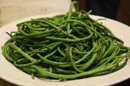 Delicious cleansing green (long) beans
